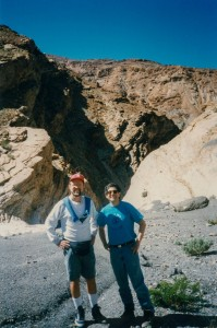 Leon and Arthur Winfree in Death Valley
