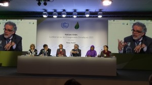 "WHO press conference: ""Climate change, air pollution & your health: Why a strong climate agreement is critical to global public health"""