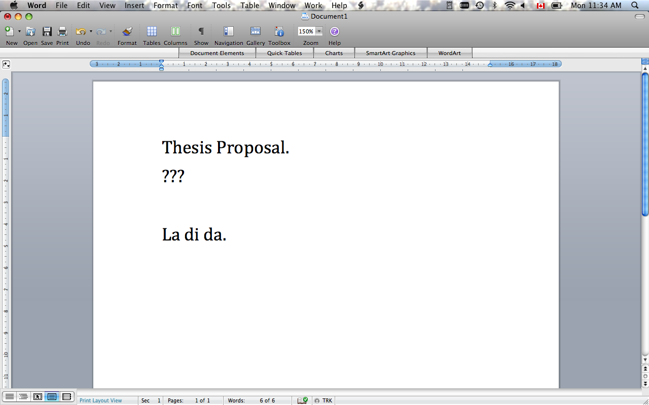 10 Things To Do Instead Of Writing Your Thesis Proposal
