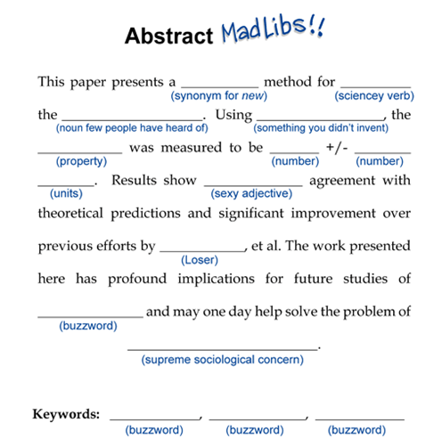 write abstract