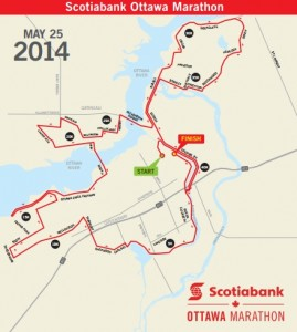 ottawa marathon course map
