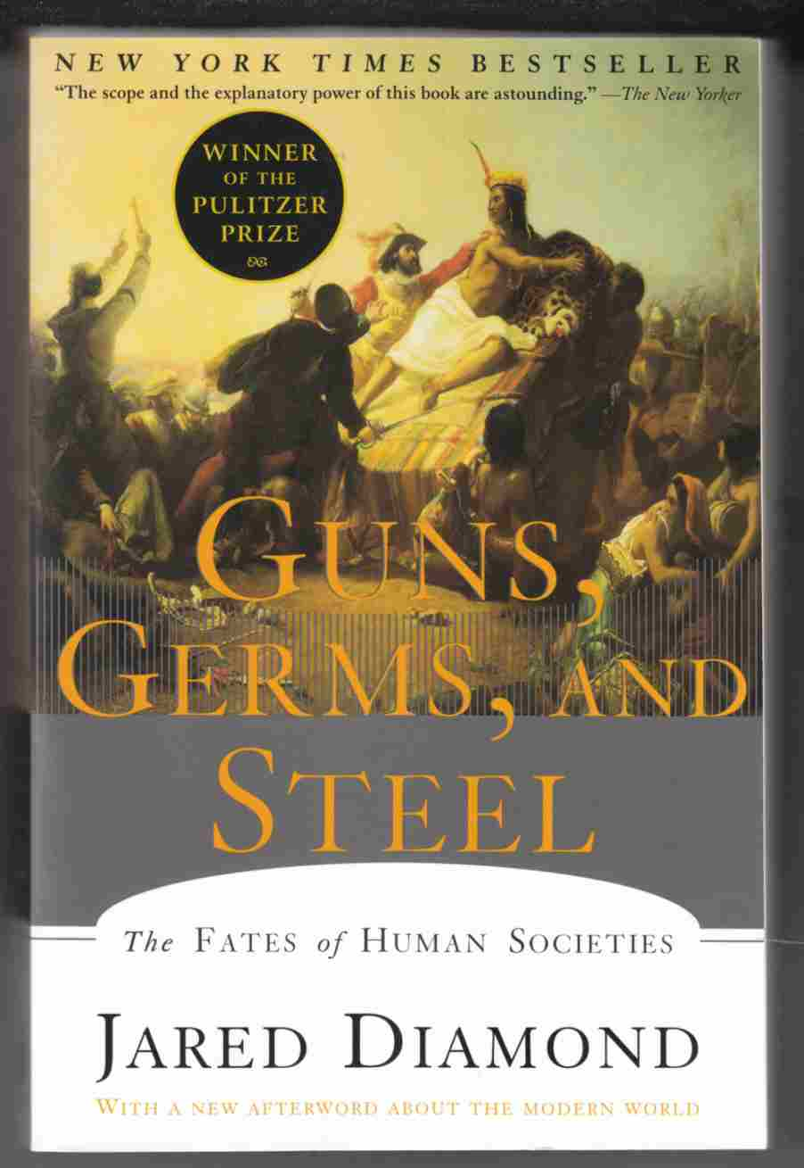 Guns germs and steel reviewed by kimberley evans