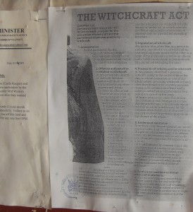Witchcraft Act