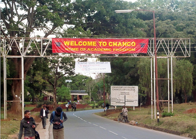 Entrance to Chanco