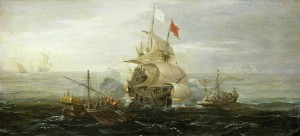 Wikimedia_French_ship_under_atack