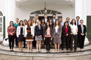 Interns and visiting professionals at the Inter-American Court of Human Rights, summer 2015