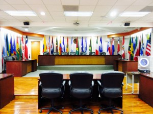 The Courtroom at the Inter-American Court of Human Rights