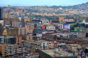 A bird's eye view of Kampala
