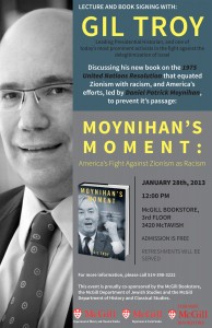 Poster for book launch