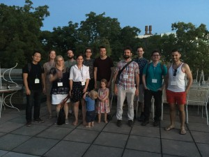 McGill faculty, students, alums at LabPhon 15 banquet
