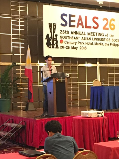 Henrison presenting at SEALS
