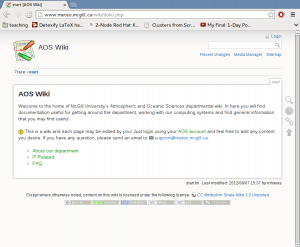 The new AOS Wiki Theme