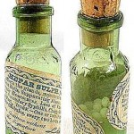 Homeopathy bottles