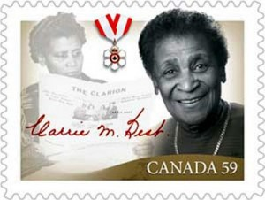 Canada Post honours Carrie Best