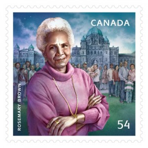 Canada Post honours Rosemary Brown