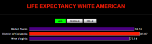 Life Expectancy White